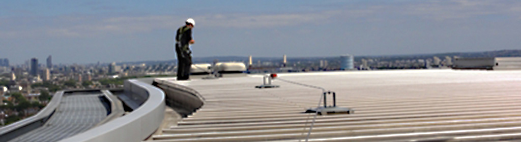 Fall Arrest Systems Mells Roofing Flat Roofing Essex